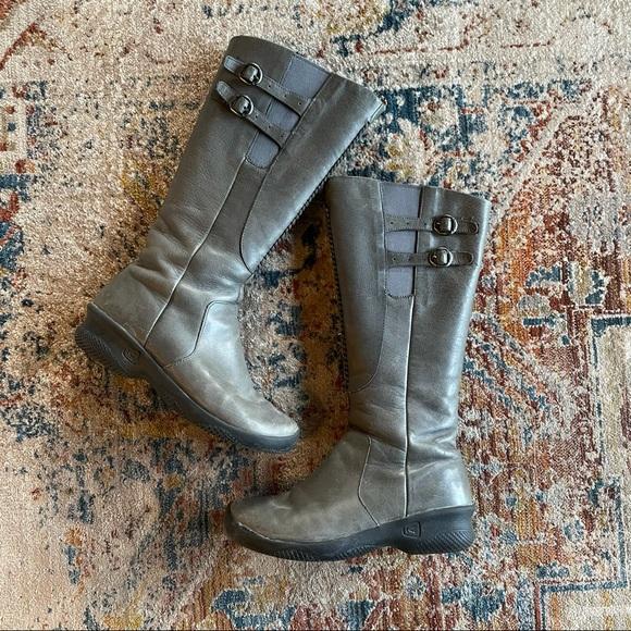 UNTIL 6/20! Keen Bern Baby Bern Boots Gray 7.5